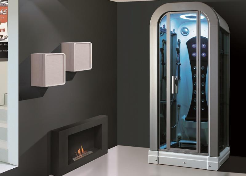 Cabinas hidromasaje sauna ducha escocesa cromoterapia aromaterapia radio - Cabinas de ducha con sauna ...
